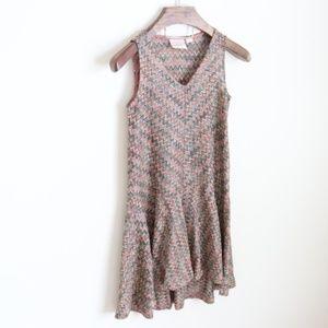 Maeve Westwater knit drop waist dress -B4
